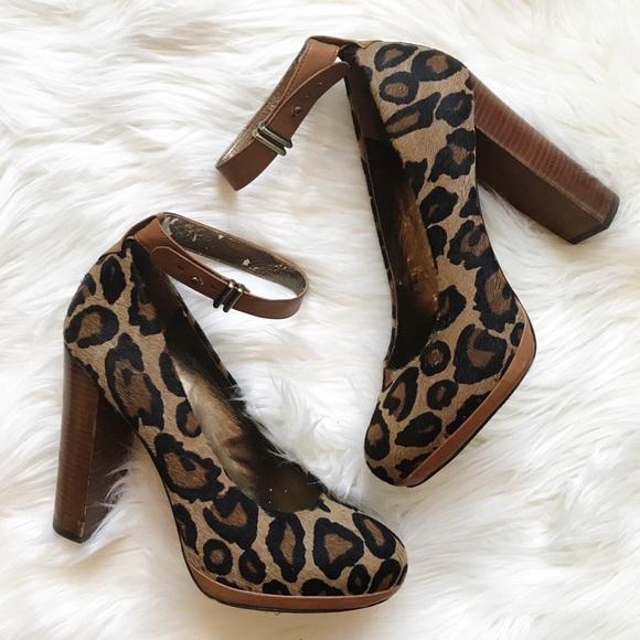 7ce2a1e33cf1b9 Sam Edelman Shoes - Sam Edelman   Leopard Lyla Pumps 8.5